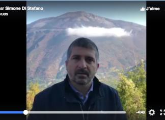 Simone Di Stefano scritta DVX monte Giano CasaPound