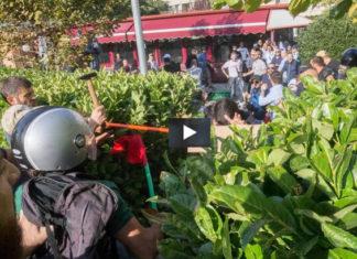 Tiburtino III centri sociali CasaPound scontri