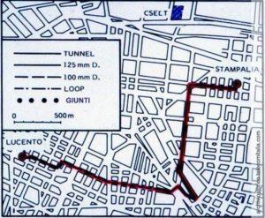 percorso fibra ottica Torino
