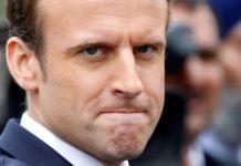 Macron calo sondaggi francesi