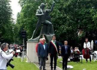 imola statua fascista