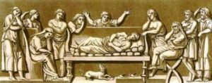 roma culto morte