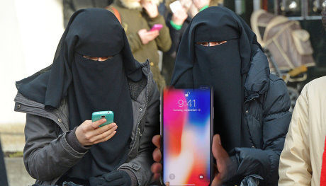 Riconoscimento facciale, islamici contro l'iPhone X