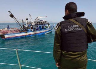 peschereccio tunisia guardia costiera