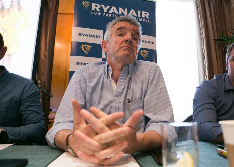 O'Leary Ryanair voli cancellati