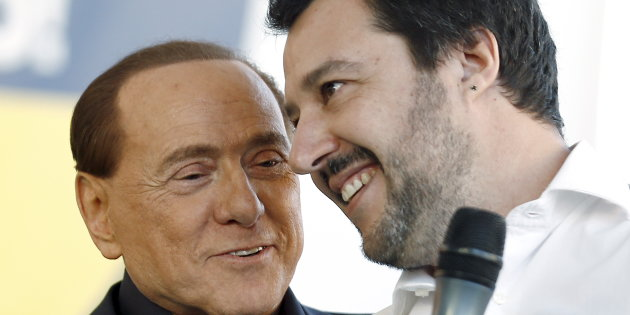 Salvini Berlusconi Afd centrodestra elezioni tedesche