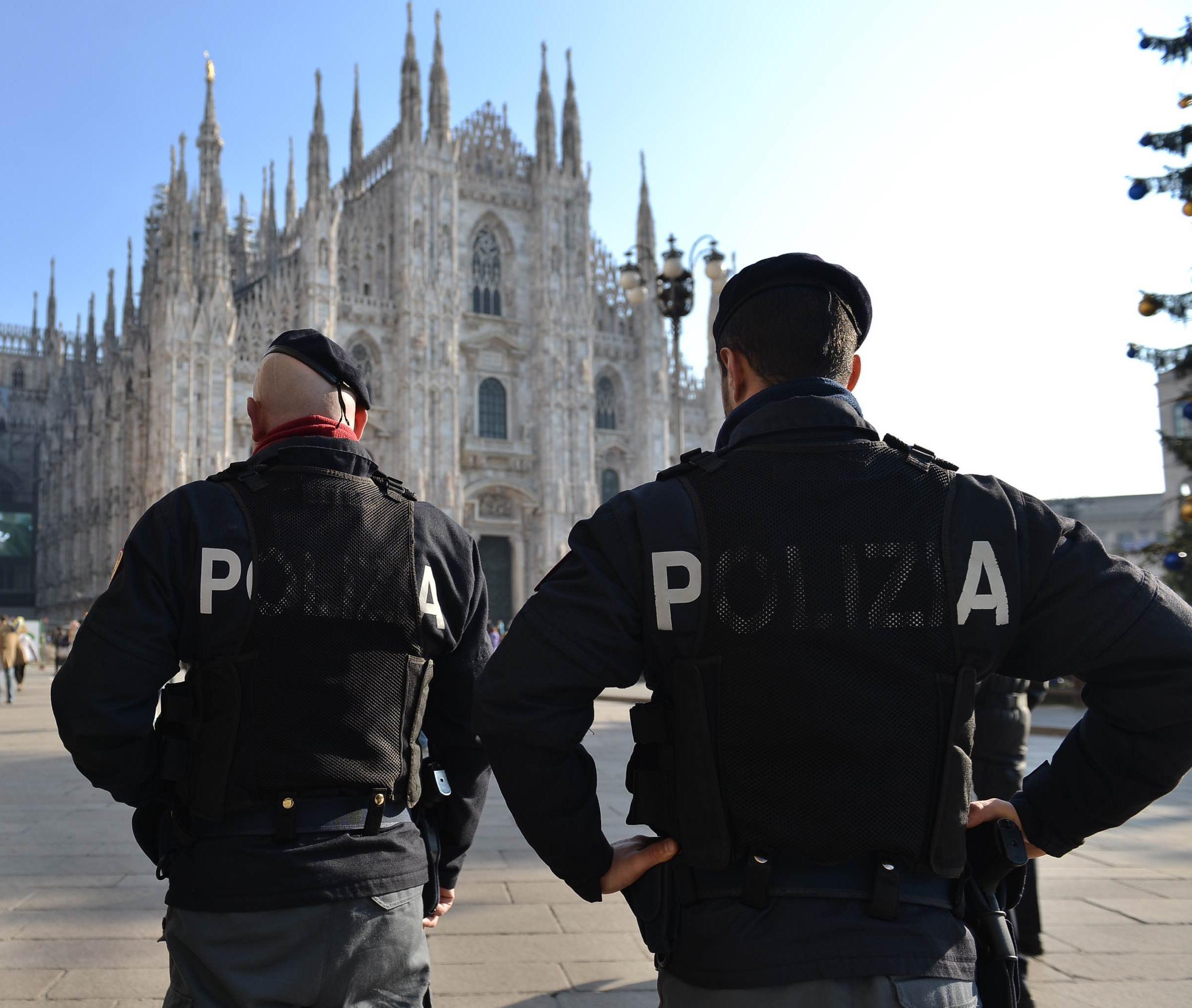 Furgoni Dhl rubati,accertamenti a Milano