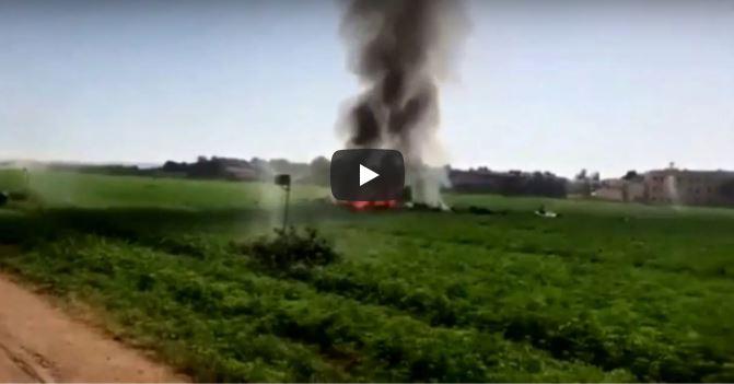 Spagna, precipita aereo militare Eurofighter: morto il pilota