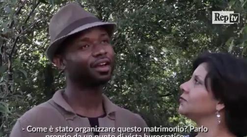 Marina sposa richiedente asilo