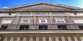 Teatro Fenaroli fasci rimossi Lanciano