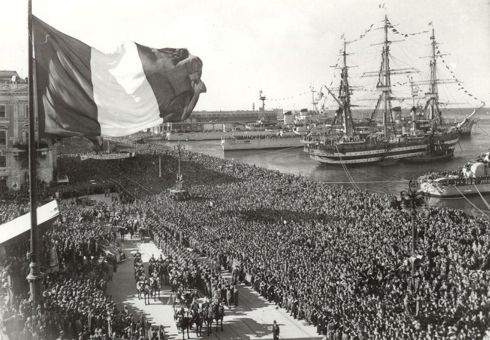Trieste italiana cos una citt divenne una bandiera - Foto della bandiera del giappone ...