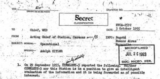 documento cia hitler