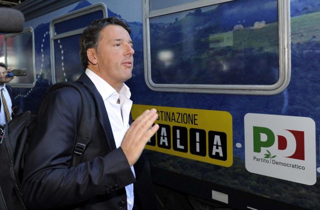 renzi treno destinazione italia