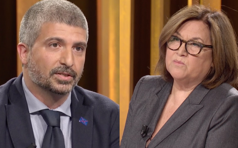 Annunziata Di Stefano CasaPound in mezzora Rai Tre