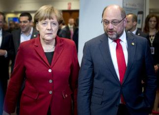 merkel schulz grosse koalition