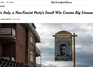 CasaPound New York Times Ostia