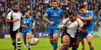 rugby italia fiji