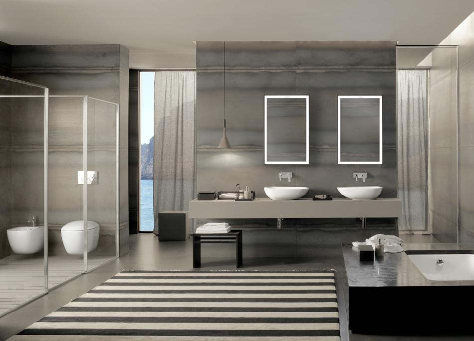 Progettare Il Bagno Di Casa : Progetto bagno: materiali colori ed accessori per realizzare l