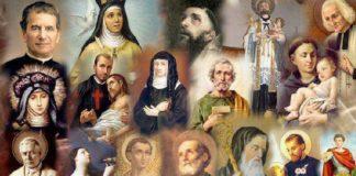 santi santità cristianesimo