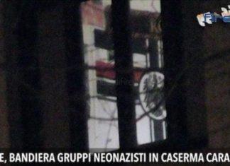 carabinieri firenze bandiera nazista