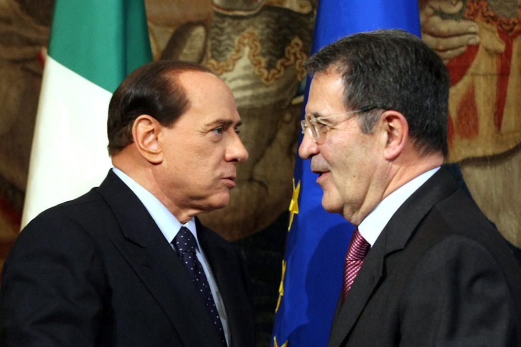 berlusconi prodi euro