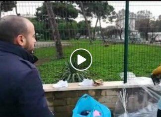 blitz casapound mercatino rom