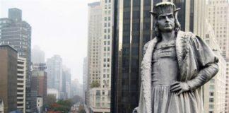 new york statua colombo