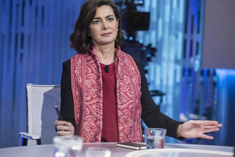 La Boldrini invoca lo scioglimento dei movimenti neofascisti Video