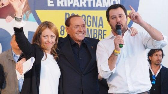 Intervista a Che tempo che fa: Berlusconi e Salvini nemici-amici