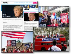 Avaaz Trump