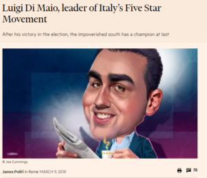 Di Maio Financial Times Soros