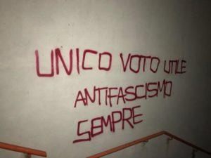 bomba CasaPound Trento