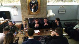 Un momento della conferenza che si è tenuta a Londra