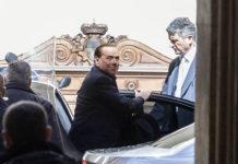 Berlusconi Palazzo Grazioli vertice centrodestra