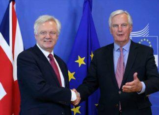 Brexit Barnier Davis
