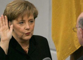 Angela Merkel IV giuramento