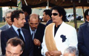 Moftah Missouri interprete Gheddafi Sarkozy