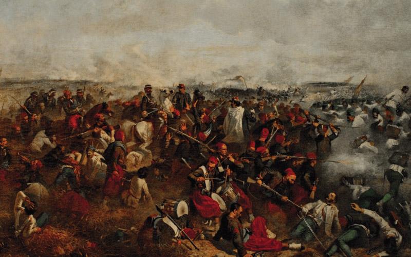 battaglia palestro augusto povoleri
