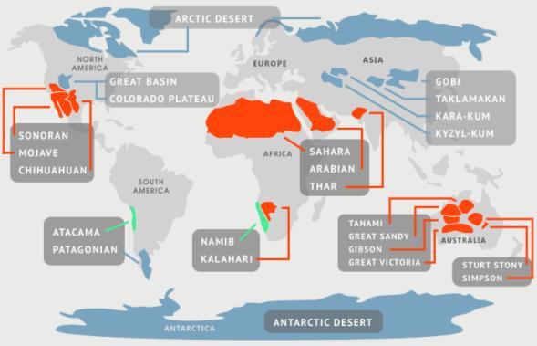 deserto geografia
