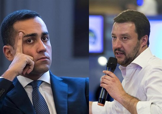 Di Maio, l'offesa a Salvini: Berlusconi ti paga? Salvini: ora querelo