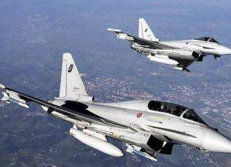 eurofighter lombardia air france