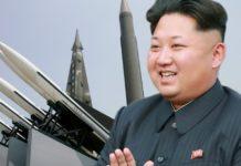 pyongyang kim yong un lancio missili monumenti