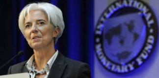 Il direttore del Fmi Christine Lagarde