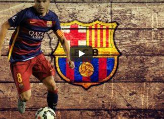 Iniesta Barcellona