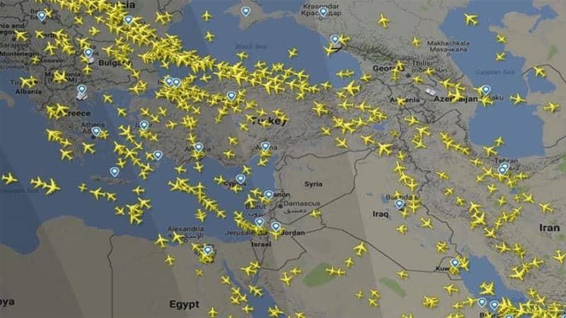 Siria - Eurocontrol avverte del rischio missili