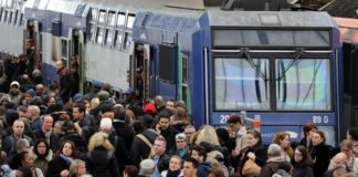sciopero treni macron