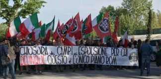 campo rom casapound