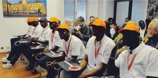 Parma vigili richiedenti asilo