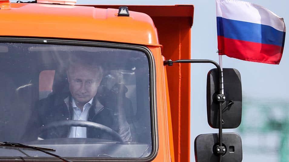 Putin ponte crimea