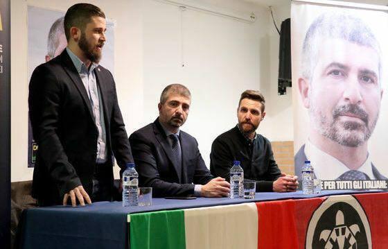 Risultati immagini per Aosta CasaPound entra in consiglio comunale